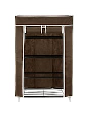 Home Belle Collapsible Storage Cabinet & Shoe Rack Wardrobe -  online shopping for Home Improvement