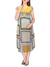 yellow rayon maternity wear -  online shopping for maternity wear