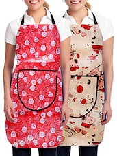 Geneva Modern Style water proof aprons combo Set of 2 pc -  online shopping for Aprons