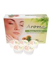 V-Color Aroma Papaya Facial Kit 270 g (5 Steps) -  online shopping for Facial Kit