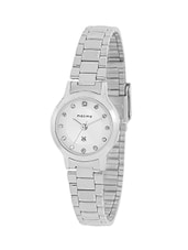 Maxima Silver Dial Analog Watch For WOMEN - 10075CMLI -  online shopping for Wrist watches