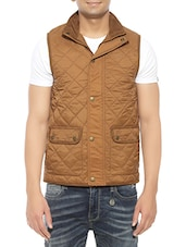 brown cotton casual jacket -  online shopping for Casual Jacket