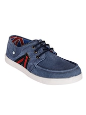 blue Denim lace up shoe -  online shopping for Sneakers