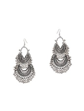 silver plated drop earring -  online shopping for earrings