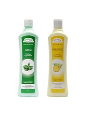 Aroma Secrets Neem And Pineapple Cleanser Combo Pack- (NP-2) - By