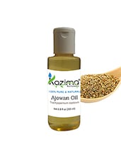 KAZIMA Ajowan Essential Oil (200ML) 100% Pure Natural & Undiluted For Skin Care & Hair Treatment - By