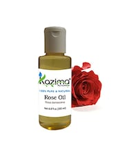 KAZIMA Rose Essential Oil (200ML) 100% Pure Natural & Undiluted For Skin Care & Hair Treatment - By