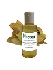 KAZIMA Cinnamon Leaf (Dalchini) Oil (200ML) 100% Pure Natural & Undiluted For Skin Care & Hair Treatment - By