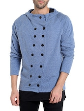 blue cotton casual jacket -  online shopping for Casual Jacket