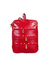 red cotton regular backpack -  online shopping for backpacks