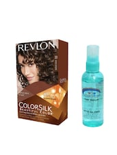 Pink Root Hair Serum (100ml) With Revlon Colorsilk Hair Color With 3D Color Technology Dark Brown 30 Pack Of 2 - By