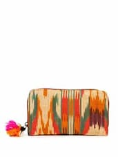Orange, Red and Green Ikat Wallet -  online shopping for Wallets & Card holders