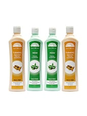 Aroma Secrets Turmeric And Neem Wax Free Cleanser Combo Pack-4(AS-TNNM-4) - By
