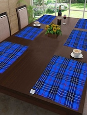 100% Cotton Table Mats ( Set Of 6) - By