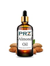 PRZ Almond Carrier Oil (30ML) - Pure Natural For Aromatherapy Body Massage, Skin & Hair Care - By