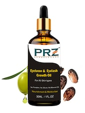 PRZ Eyebrow & Eyelash Growth Oil For Women - 100% Pure Natural (30ml) - By
