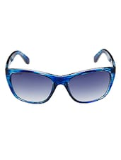 Fastrack Rectangular Women Blue Sunglass - P285BU2 - By