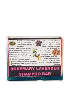 Rosemary and Lavender Shampoo Bar Soap (Vegan) - SOULFLOWER