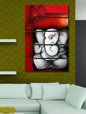 Printed Ganesha Wall Art Painting -  online shopping for Posters