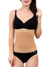 Beige Cotton and Spandex Tummy Tucker Shapewear -  online shopping for shapewear