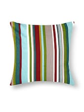 Multicolored Cotton Printed Cushion Cover (Set Of 5) - By