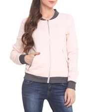 Pink Naps Fleece  Long Sleeved Jacket - By