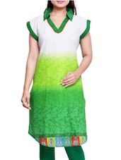 Multicolored Cotton Printed Kurta - By - 9559337
