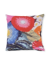 Multicolored Printed Cotton Cushion Cover ( Set Of 2 ) - By