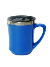 Blue Stainless Steel Coffee Mug - By
