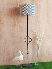 Multicolored Iron And Cotton Floor Lamp - By