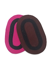 Set Of 2 Oval Cotton Doormats - By - 9701159