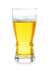 Set Of 6 Clear Beer Glasses - By - 9707438