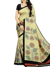Multi-color Art Silk Sarees - By