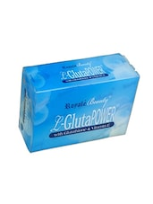 Natural Color, Herbal Soap With Glutathione And Vitamin E For Skin Whitening With Natural Extracts - By