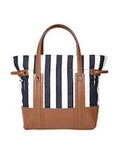 navy and tan leatherette   messenger bag -  online shopping for sling bags