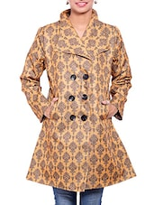 Brown Jute Winter Coat - By