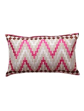 Multi Colour Cotton Cushion Cover - By