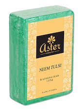 Neem Tulsi Bathing Bar 125g - Pack Of 6 -  online shopping for soap