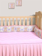 """Swayam Digitally Printed Cot Bumper (Large / Std Size) 10""""x160"""" (25x410cm) With 400 Gsm Polyfil Inside, No Oozing Out Of Fiber ( - By - 9995990"""