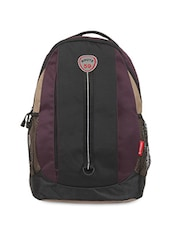 Purple Polyester Laptop Bags & Sleefe - By