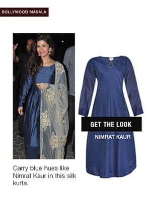 Blue Kurtas. Online shopping look by monica