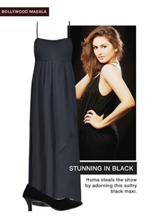 Black Dresses with Black Pumps. Online shopping look by Rina Walia S