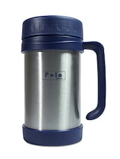 Blue Stainless Steel Travel Mug - By