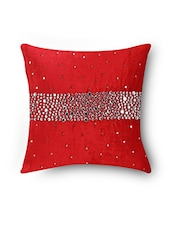 Sanaa Stunning Stone Uni Color Cushion Cover - By