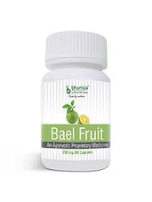 Bael Fruit Capsules 60's - Dysentery & Diarrhea, Colitis, Irritable Bowel Syndrome - By