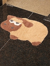"Po Box Tufted With Anti Ski Backing Becker Sheep Bath Rugs  18""X18"" -  online shopping for bath mats"