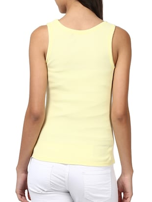 yellow cotton top - 10527953 - Standard Image - 3