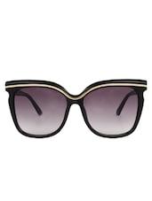 Zyaden Black Oversized Sunglasses For Women 73 - By