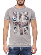 Pepe jeans grey Cotton Tee-shirt  -  online shopping for T-Shirts