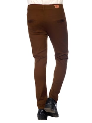 Stretchable Regular Fit Chinos - 10685871 - Standard Image - 3